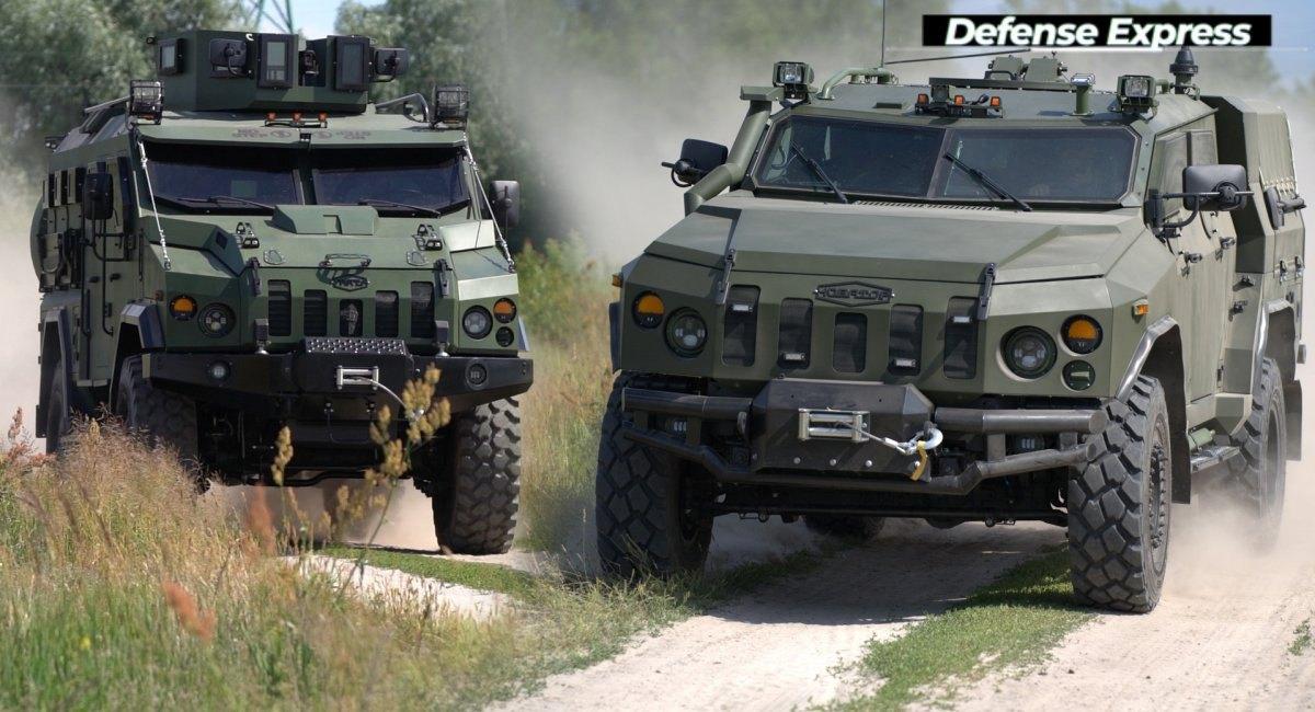 Бронеавтомобілі 'Варта' і 'Новатор' від 'Української бронетехніки'