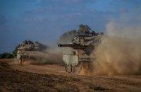 В секторе Газа продолжается наземная операция Израиля