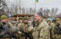 Порошенко: Россия держит на границе 1120 танков и 2600 броневиков