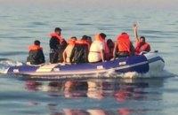 На Ла-Манше перехватили 13 лодок с более чем 130 мигрантами, среди них 23 ребенка