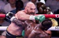 Вайлдер зламав руку в програному титульному бою проти Ф'юрі