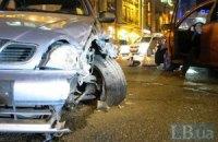 На Бессарабці в Києві зіткнулися відразу три машини