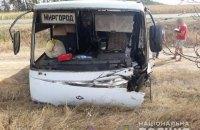 У Черкаській області Daewoo Lanos влетів у маршрутку, троє загиблих