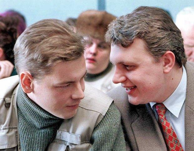 Дмитрий Завадский и Павел Шеремет (справа)