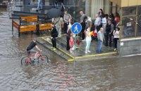 """У Мінську через сильну зливу введено план """"Посейдон"""""""