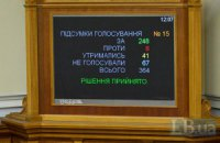 Рада отправила главу СБУ в отставку