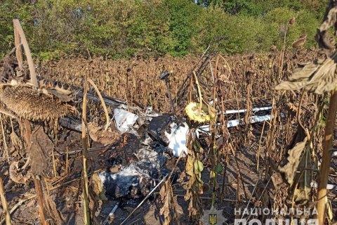 На Сумщині впав легкомоторний літак, пілот загинув