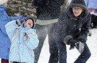 В Украину снова возвращается зима