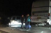Туристичний автобус з 49 дітьми потрапив у ДТП у Львівській області