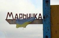 В Марьинке боевики обстреляли школу, детей эвакуировали в бомбоубежище