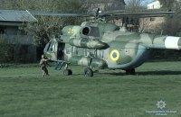 Вінницька поліція використала вертоліт під час затримання дебошира з рушницею