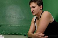 Савченко заборонила застосовувати до себе примусове годування