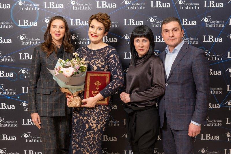 Народный депутат Константин Бондарев с супругой и Анна Старикова (слева)