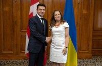 Зеленський і Фріланд обговорили консолідацію коаліції з протидії РФ