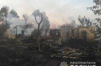Три дома, пять автомобилей, три гаража и трактор сгорели из-за сжигания травы в Вышгородском районе