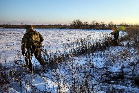 Боевики трижды пытались атаковать позиции ВСУ в районе Светлодарской дуги
