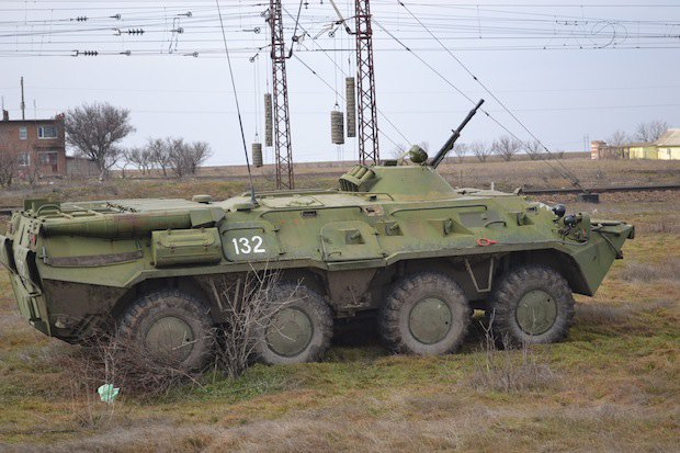 Сиваш. Украинская военная техника
