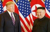 Переговори Трампа і Кім Чен Ина закінчилися без підписання документів