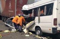 10 людей загинули внаслідок зіткнення маршрутки та вантажівки в Житомирській області