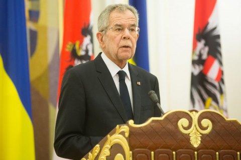 Президент Австрії виключив визнання російських виборів у Криму