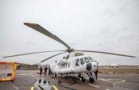 МВД выделило Черновицкой области санитарный вертолет