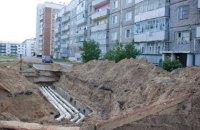 У Києві через прорив тепломережі утворився гейзер висотою у кілька поверхів