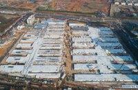 В Ухане за 10 дней построили вторую больницу для инфицированных коронавирусом