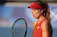 Тенісистка знялася з чвертьфінального матчу олімпійського турніру через сильну спеку в Токіо