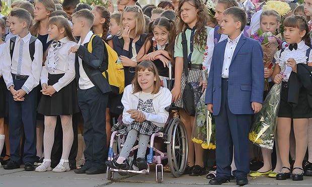 В українських школах нарешті впроваджується інклюзивна освіта