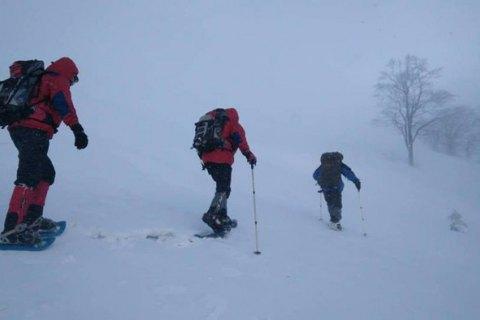 В Карпатах выпал метр снега, туристов просят воздержаться от походов на высокогорье