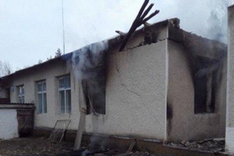В Винницкой области горел сельсовет