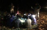 В Сумской области задержали 12 нелегальных мигрантов из Азии