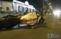 В Киеве водитель сбил насмерть мотоциклиста и скрылся с места происшествия
