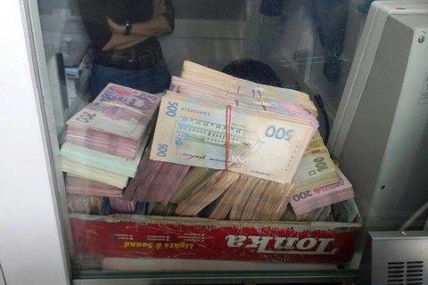 СБУ изъяла 3,2 млн гривен в нелегальных киевских обменках