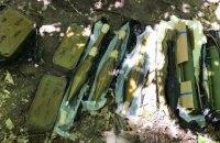 В Голосеево в Киеве обнаружили тайник с противотанковыми гранатометами