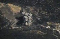 Под Раккой сбили самолет сирийских ВВС