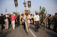 Власти Киева запретили продавать алкоголь в местах проведения крестного хода