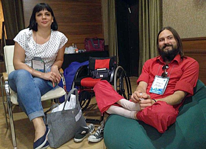 Леонід Балдін (справа)