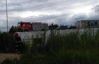 В Ровенской области перевернулся рейсовый автобус с 53 пассажирами (обновлено)