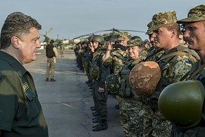 Порошенко собирается увеличить расходы на армию до 5% от ВВП