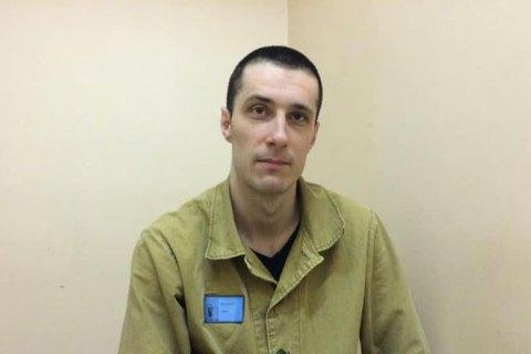 Український політв'язень Шумков припинив голодування в російській колонії