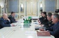 Украинская армия отразила атаки по всему фронту, - Порошенко