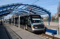Киев ведет переговоры о продлении линии скоростного трамвая до Дворца спорта