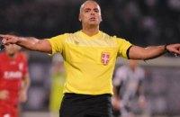 У Сербії футбольного арбітра відправили в тюрму за суддівство в матчі чемпіонату