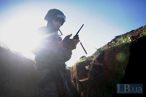 Один военнослужащий получил ранение в зоне АТО в пятницу