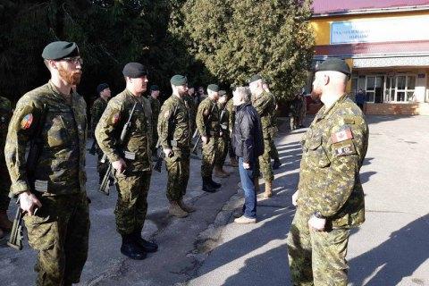 Канадские инструкторы подготовили больше 14 тыс. украинских военных