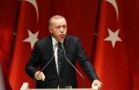 """Ердоган у розмові Путіну заявив, що Ізраїлю потрібно """"надати урок"""""""