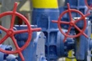Украина сократила транзит газа на 41,5%