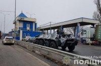 В Одеській області через воєнний стан встановили блокпости з бронетехнікою