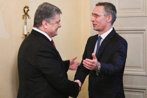Зачем Петро Порошенко в письме генсеку НАТО вспомнил о ПДЧ?